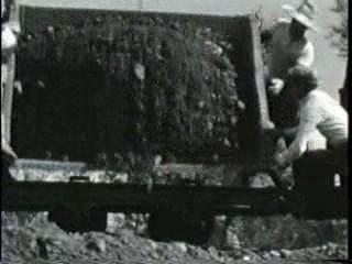 空知川の改修工事