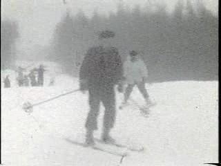 冬遊び スキー