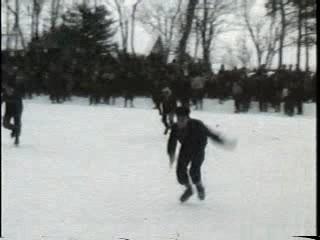 冬遊び スケート